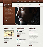 Religious Website  Template 38433
