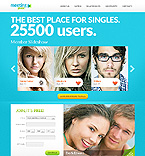 Dating Website  Template 38435