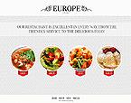 Cafe & Restaurant Website  Template 38439