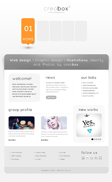 Joomla Theme/Template 38448 Main Page Screenshot
