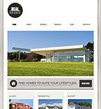 Real Estate Joomla  Template 38451