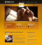 Religious Website  Template 38486