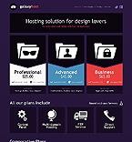 Web Hosting Website  Template 38488