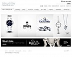 Jewelry Flash CMS  Template 38491