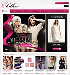 Fashion Flash CMS  Template 38492