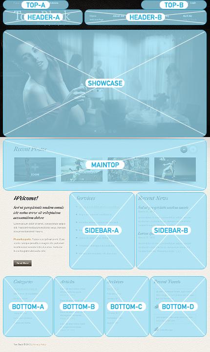 Joomla Theme/Template 38499 Main Page Screenshot