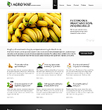 Agriculture Website  Template 38517