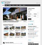 Real Estate Website  Template 38518