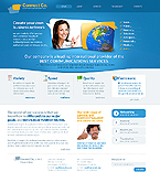 Communications Website  Template 38529