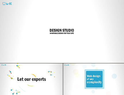 ADOBE Photoshop Template 38534 Home Page Screenshot