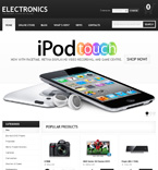 Electronics VirtueMart  Template 38551