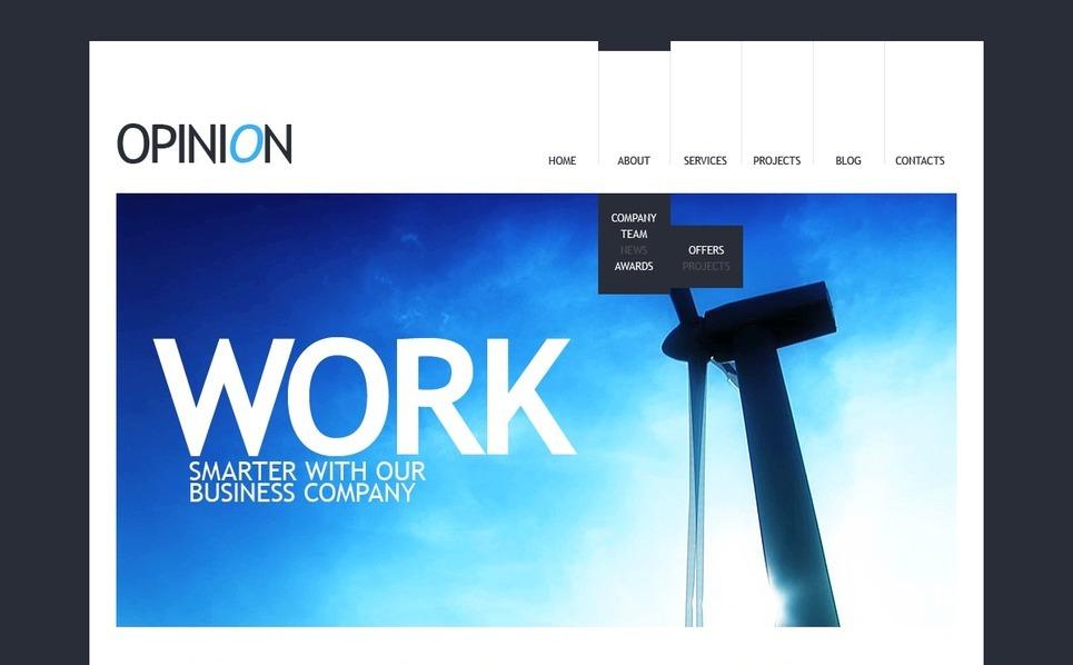 Template Joomla para Sites de Negócios e Prestadores de Serviços  №38552 New Screenshots BIG