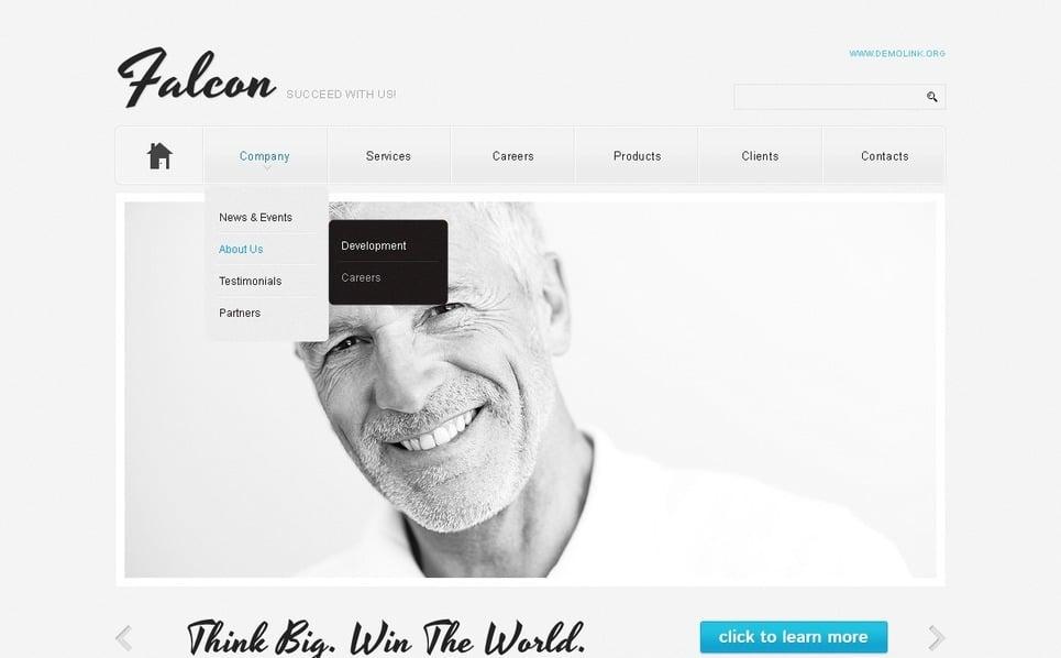 Адаптивный HTML шаблон №38557 на тему Бизнес и услуги New Screenshots BIG