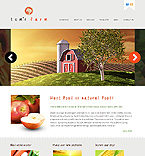 Agriculture Website  Template 38564