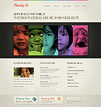 Charity Website  Template 38566