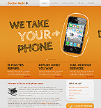 Communications Website  Template 38571
