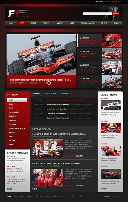 Drupal Template 38575 Main Page Screenshot
