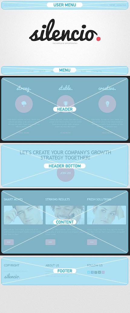 Drupal Template 38576 Main Page Screenshot