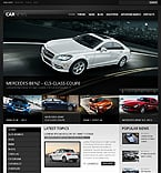Cars Drupal  Template 38577
