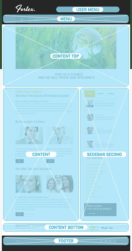 Drupal Template 38579 Main Page Screenshot