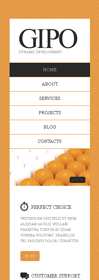 Drupal Template 38582 Main Page Screenshot