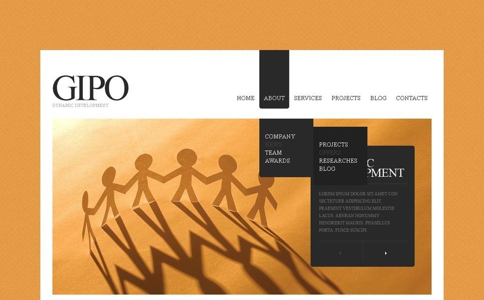 Template Drupal para Sites de SEO №38582 New Screenshots BIG