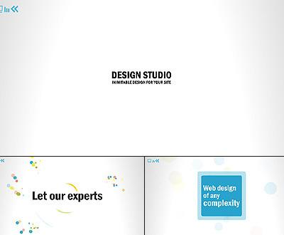 Design studio flash intro template 26262 pronofoot35fo Choice Image