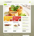 Food & Drink Website  Template 38614