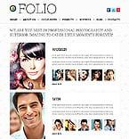 Art & Photography Website  Template 38618