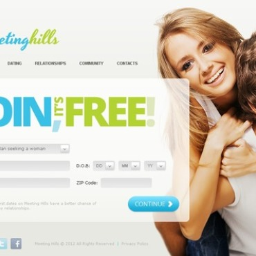 Dating site template free