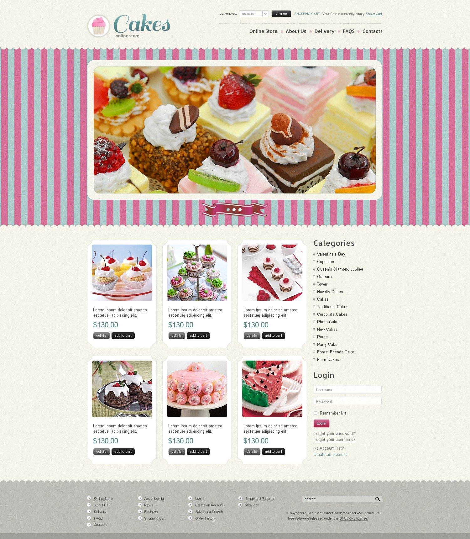 recipe website templates by daniel c adams