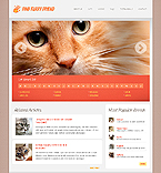 Animals & Pets Website  Template 38655
