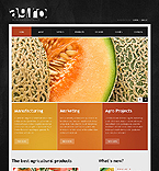 Agriculture Website  Template 38665