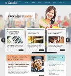 Education Website  Template 38679