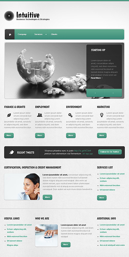 ADOBE Photoshop Template 38681 Home Page Screenshot