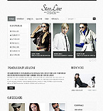 Fashion Website  Template 38684