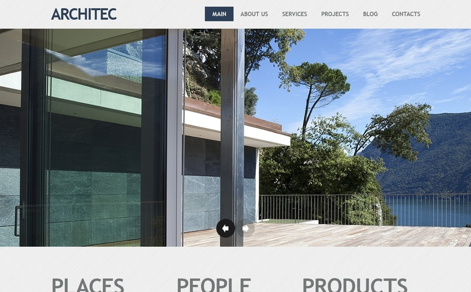 Joomla Template over Architectuur New Screenshots BIG