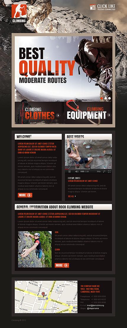 ADOBE Photoshop Template 38690 Home Page Screenshot