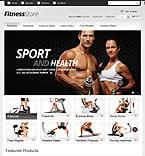 Sport PrestaShop Template 38693