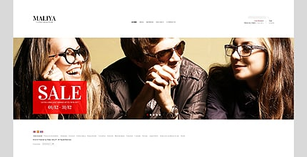 ADOBE Photoshop Template 38694 Home Page Screenshot