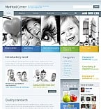 Medical Flash CMS  Template 38700