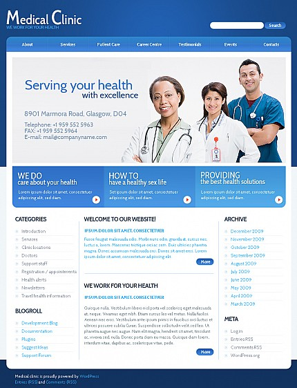 ADOBE Photoshop Template 38701 Home Page Screenshot