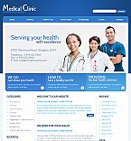 Medical Flash CMS  Template 38701