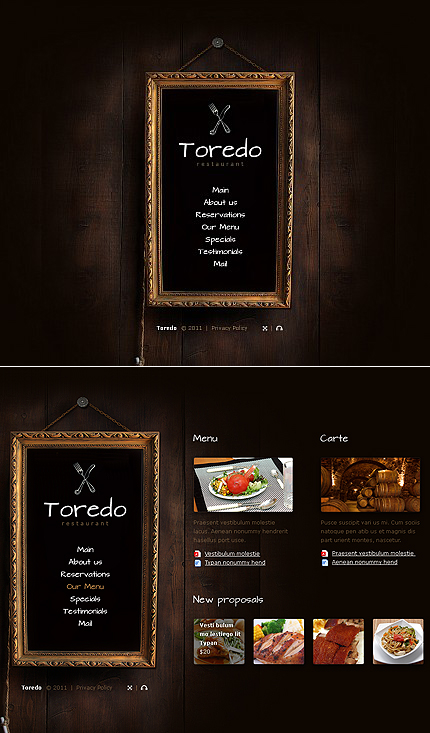 ADOBE Photoshop Template 38705 Home Page Screenshot