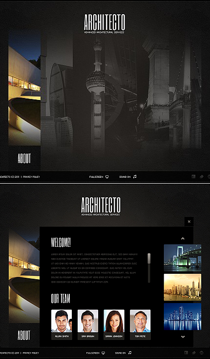 ADOBE Photoshop Template 38711 Home Page Screenshot