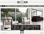 Furniture Flash CMS  Template 38713