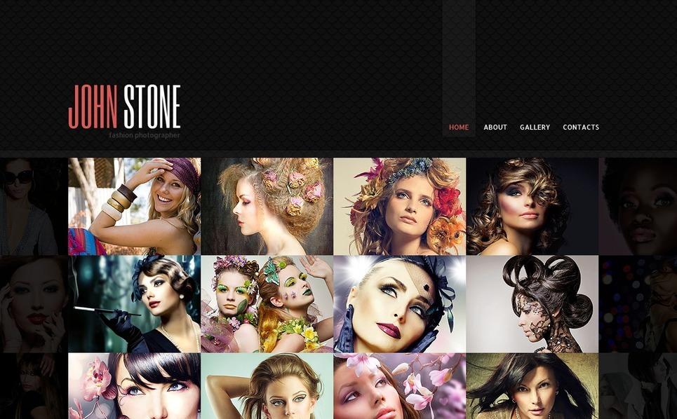 Template Web para Sites de Portfólio de Fotografo №38728 New Screenshots BIG