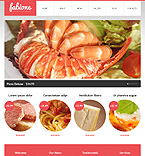 Cafe & Restaurant Drupal  Template 38729