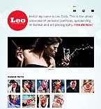 Art & Photography Website  Template 38730