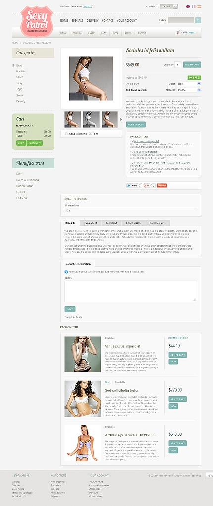 ADOBE Photoshop Template 38735 Home Page Screenshot